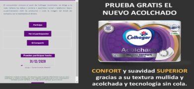 Colhogar acolchado ofrece reembolso - Muestragratis.com