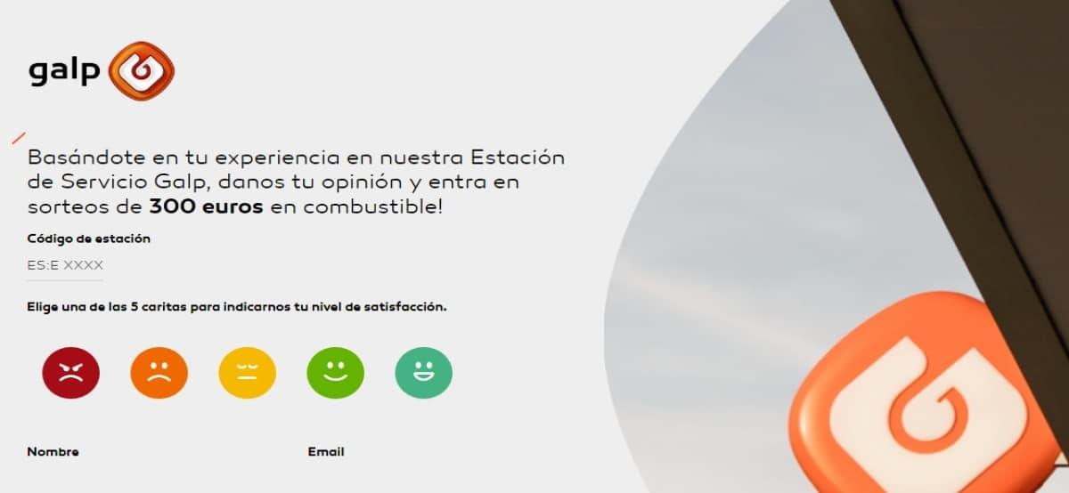 Gana un premio de 300 euros de combustible con Galp - Muestragratis.com