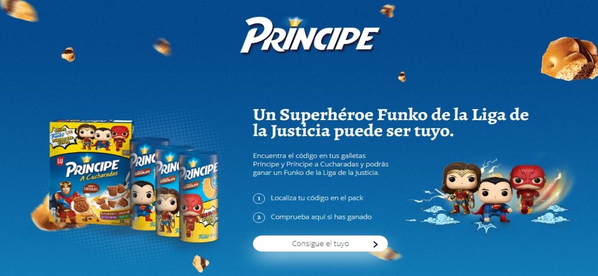Príncipe regala figuras para coleccionar de la liga de la justicia - Muestragratis.com