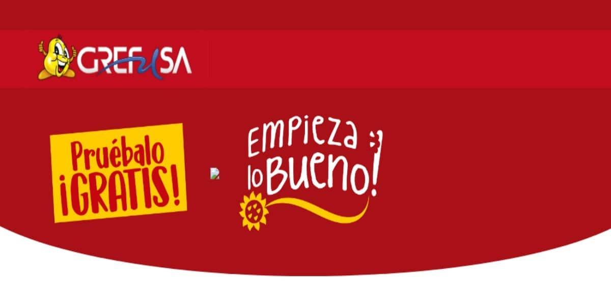 Reembolso de frutos secos Grefusa - Muestragratis.com