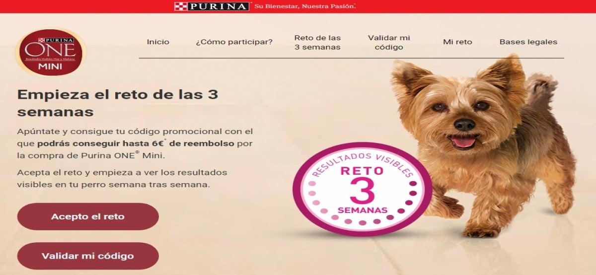 Purina ofrece 3000 reembolsos por la compra y registro en Purina One Mini - Muestragratis.com