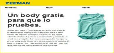 Muestra gratis de Body Ecológico Zeeman - Muestragratis.com