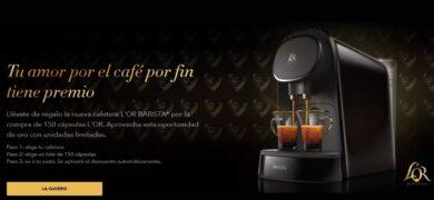 Compra 150 capsulas de L'or Espresso y recibe una cafetera valorada en 99€ - Muestragratis.com