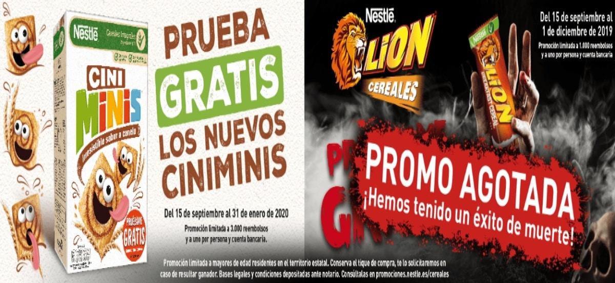 Compra Cini Minis de Nestlé y opten su reembolso - Muestragratis.com