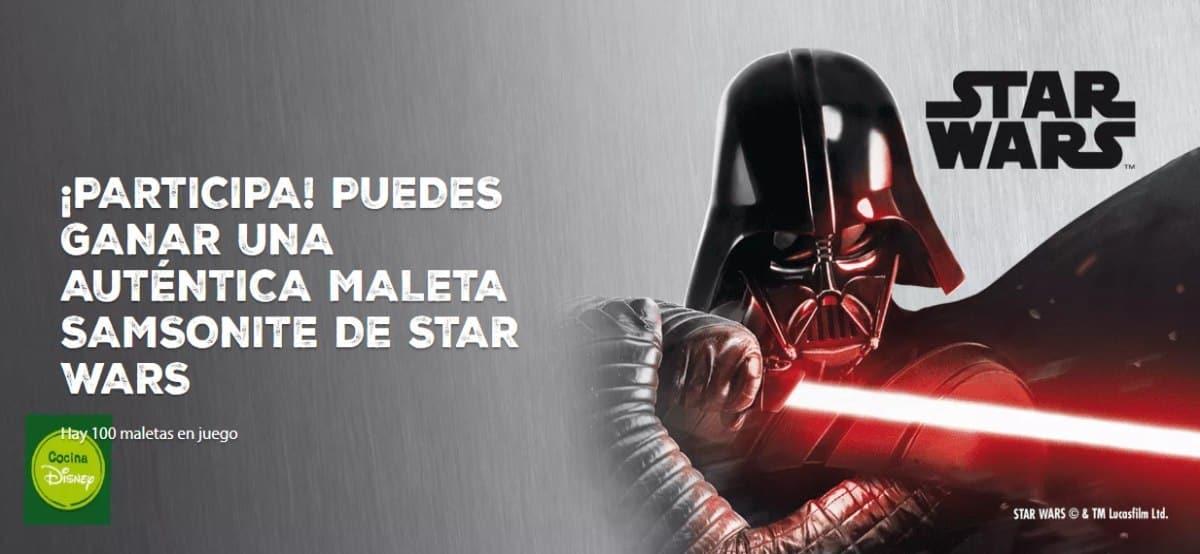 Nestlé regala 100 maletas de Star Wars - Muestragratis.com