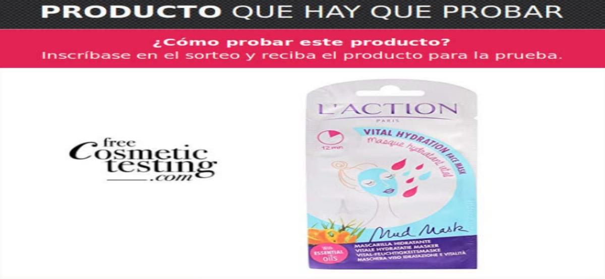 Muestras gratis para testers de la crema Vital Hidratación de L'Action Paris - Muestragratis.com