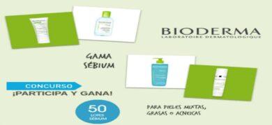 Participa y gana en el concurso de la Gama Sébium de BIODERMA - Muestragratis.com