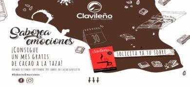 Consigue un mes chocolate a la taza Clavileno - Muestragratis.com