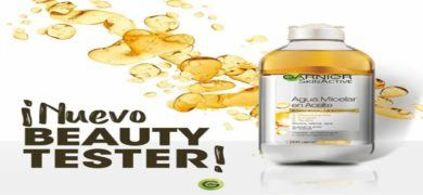 Promoción de Garnier por Instagram te invita a probar gratis el Agua Micelar en Aceite - Muestragratis.com