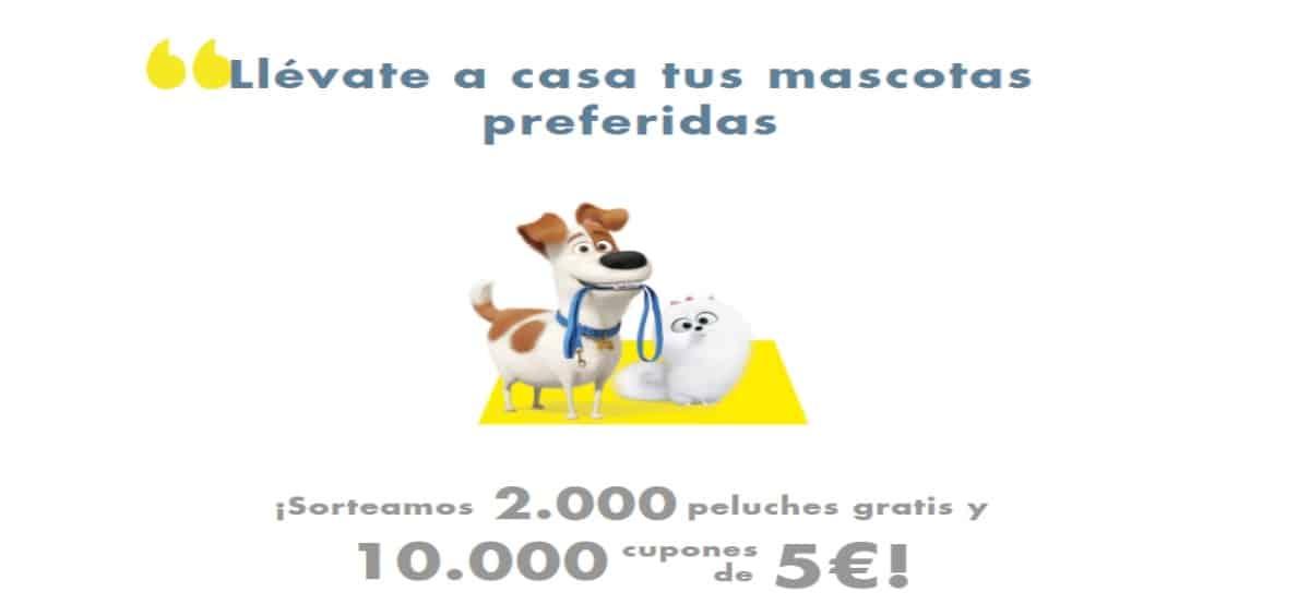La Plaza DIA sortea 10.000 cupones de 5€ y 2000 peluches - Muestragratis.com