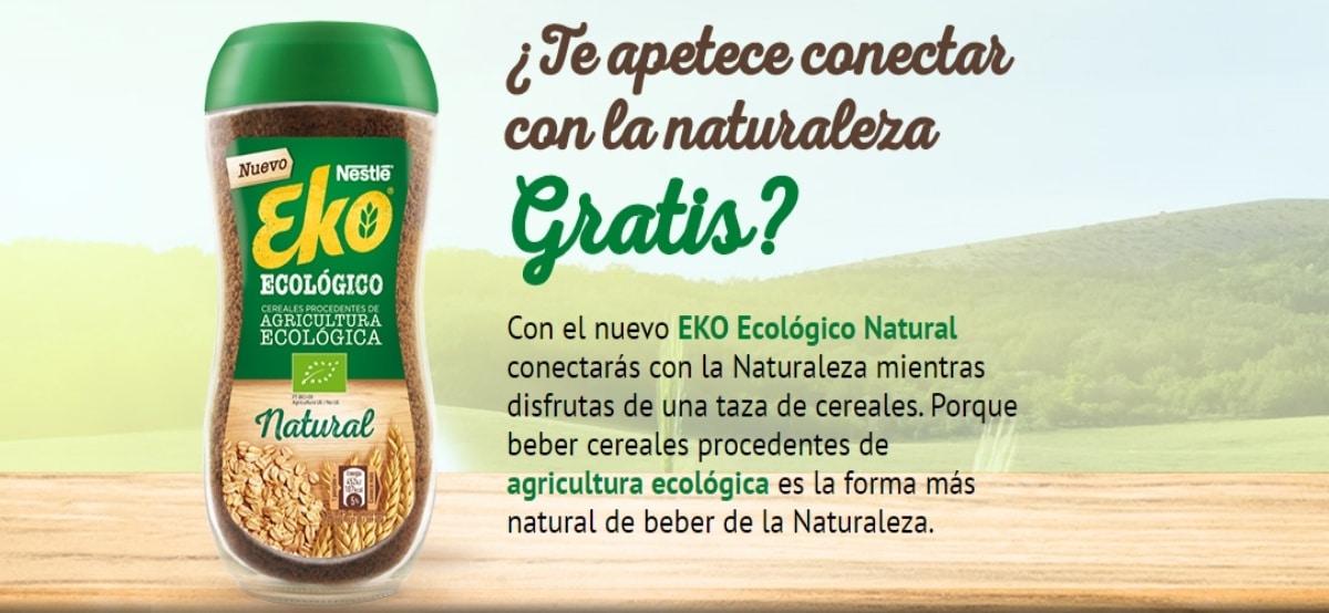 Prueba gratis el nuevo Eko ecológico de Nestlé y opten reembolso - Muestragratis.com