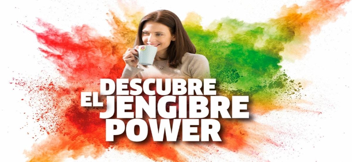 Prueba gratis y descubre el nuevo Jengibre Power - Muestragratis.com