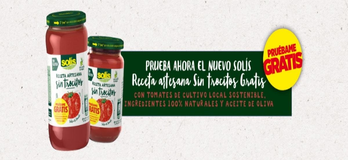 Prueba el nuevo tomate solis receta arsesana - Muestragratis.com