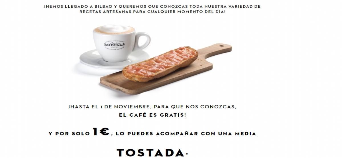 Restaurante Rodilla en Bilbao te ofrece un rico y delicioso café totalmente gratis - Muestragratis.com