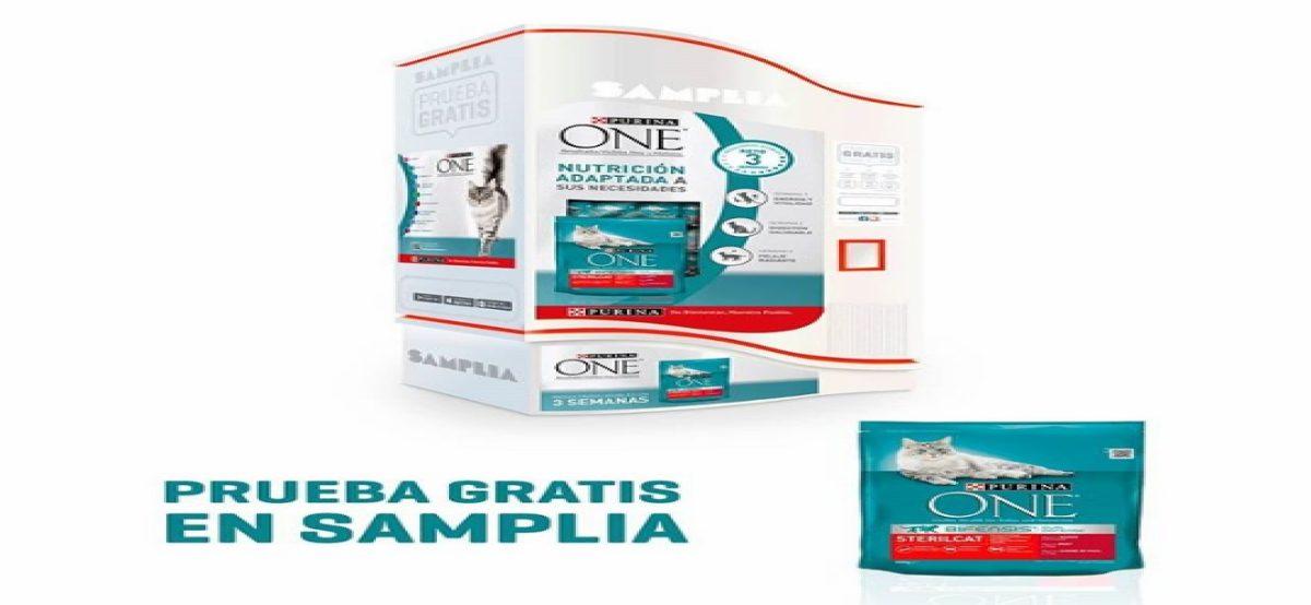 Samplia regala muestras gratis de Purina One para gatos - Muestragratis.com