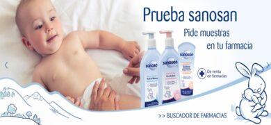 Sanosan regala muestras gratis para tú bebe - Muestragratis.com