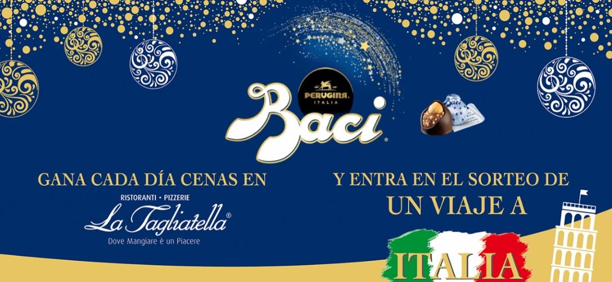 Sorteo de BACI PERUGINA regala 1 viaje a Italia y 100 cenas - Muestragratis.com
