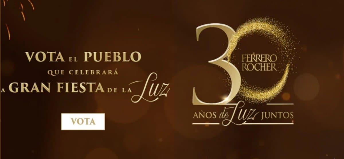 30 Aniversario De Ferrero Rocher Que Sortea 10 Pirámides De Chocolate Con 96 Unidades Cada Una