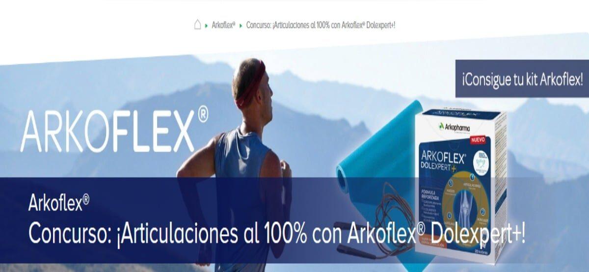 Arkopharma Te Invita A Participar En La Promoción De 50 Lotes De Arkoflex