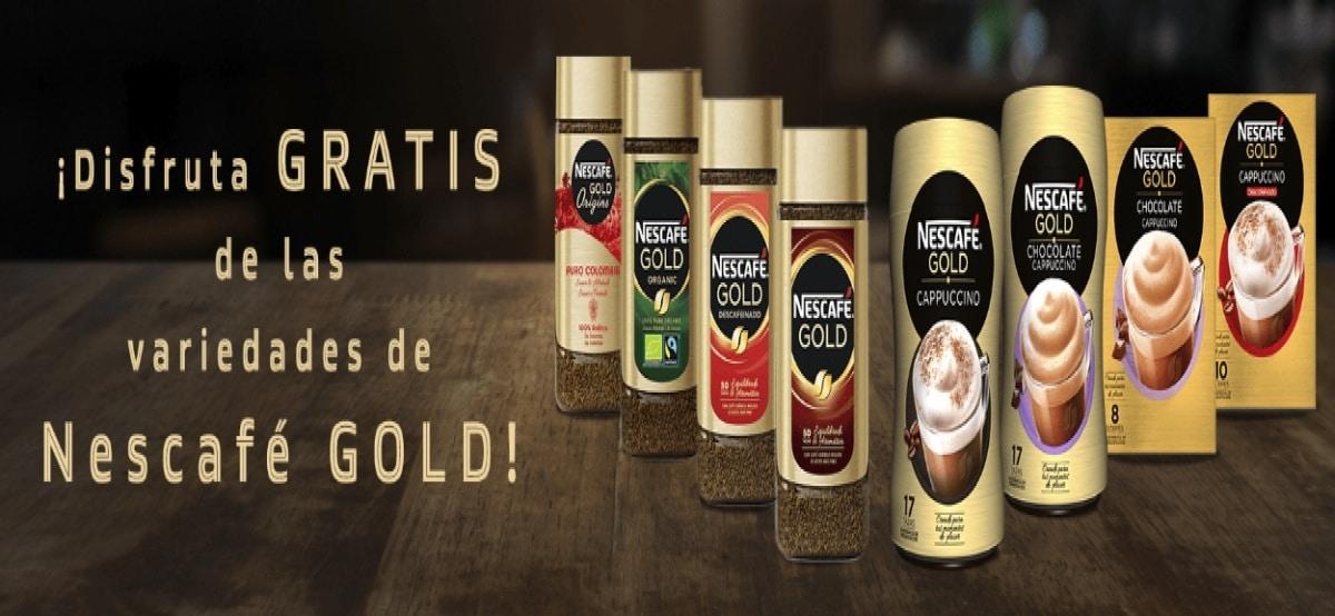 Disfruta del nuevo Nescafé Gold y optén su reembolso - Muestragratis.com