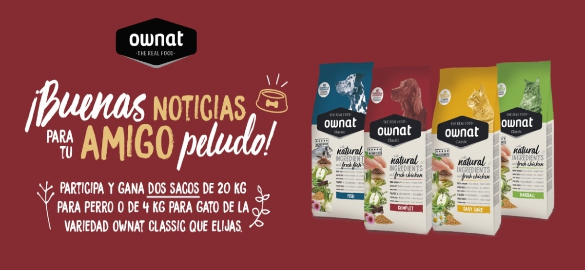 Gana Sacos De Comida Para Perros Y Gatos Ownat Classic