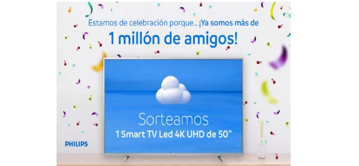 Participa En Mayoral Por Un Smart Tv Philips Led 4k Uhd De 50 Pulgadas