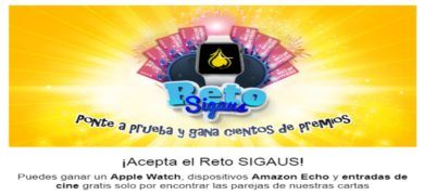 Participa En El Reto Sigaus Y Gana Cientos De Premios