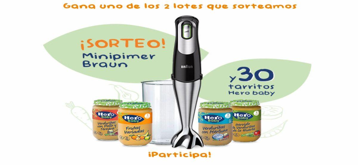Participa En El Sorteo De Un Minipimer Braun Y 30 Tarritos Hero Baby