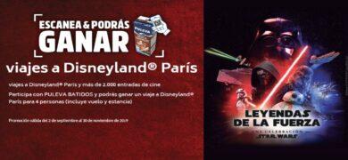 Promoción De Puleva Batidos Te Invita A Ganar Entradas Al Cine Y Viajes A Disneyland