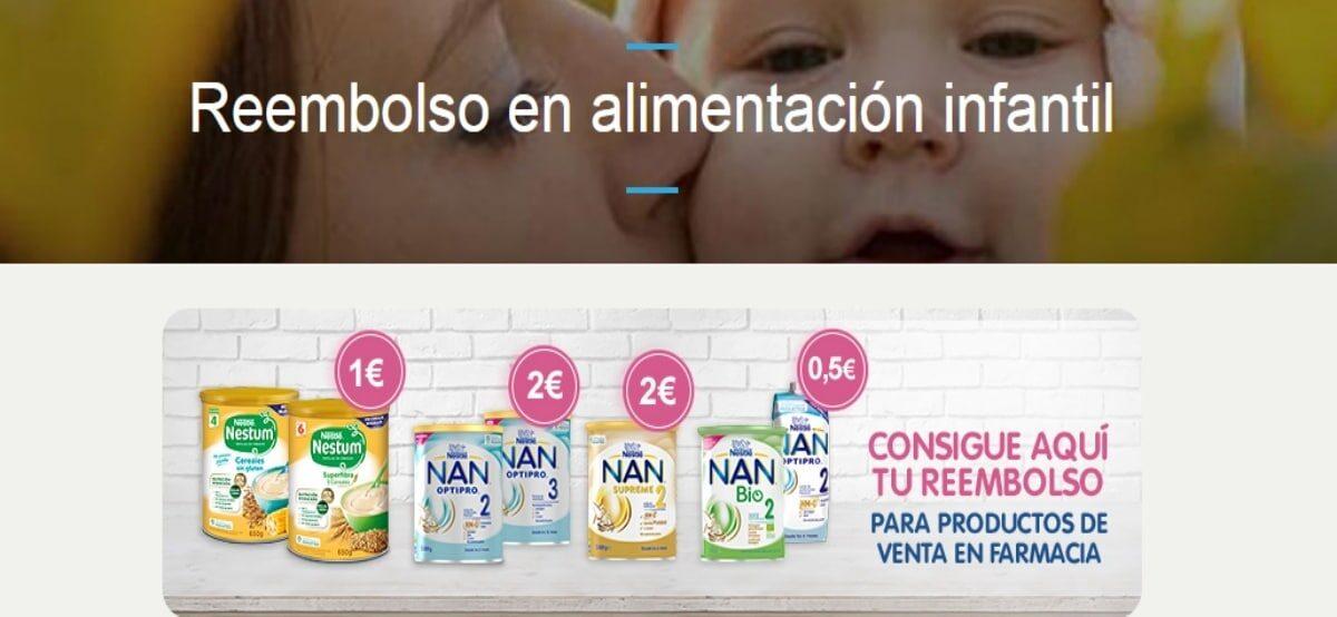Reembolsos De Nestlé Baby Para Tu Bebé