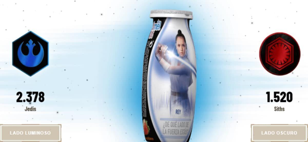 Decide En Qué Lado Estás En El Ascenso De Skywalker Y Gana Fantasticos Premios Con Actimel