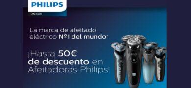 Opten Un Reembolso De 50€ Comprando Afeitadoras Philips