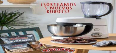 Participa En La Promoción De Borges Y Gana Un Robot De Cocina Moulinex