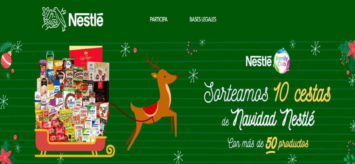 Participa En La Promoción Navideña De Nestlé Y Gana Fantásticas Cestas De Navidad