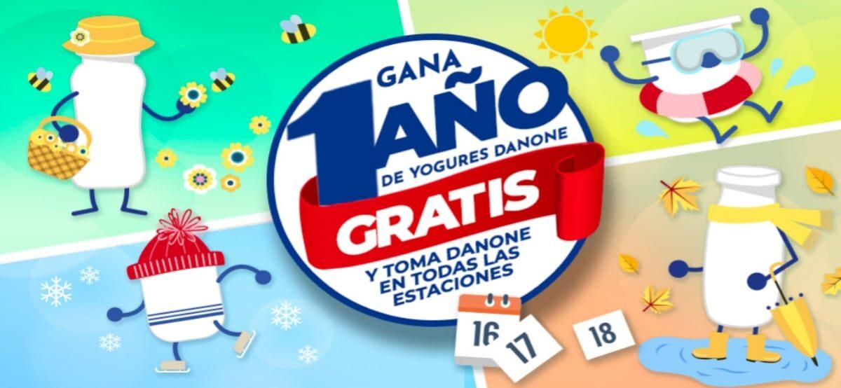 Participa Y Gana Un Año Gratis De Yogures Danone