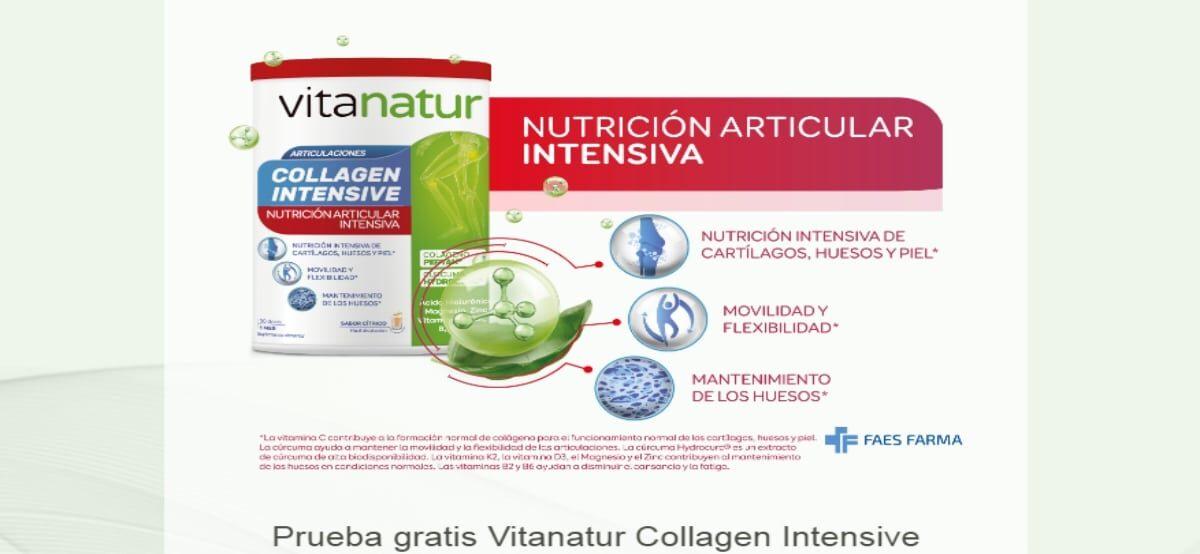 Prueba Vitanatur Collagen Intensive Y Opten Reembolso