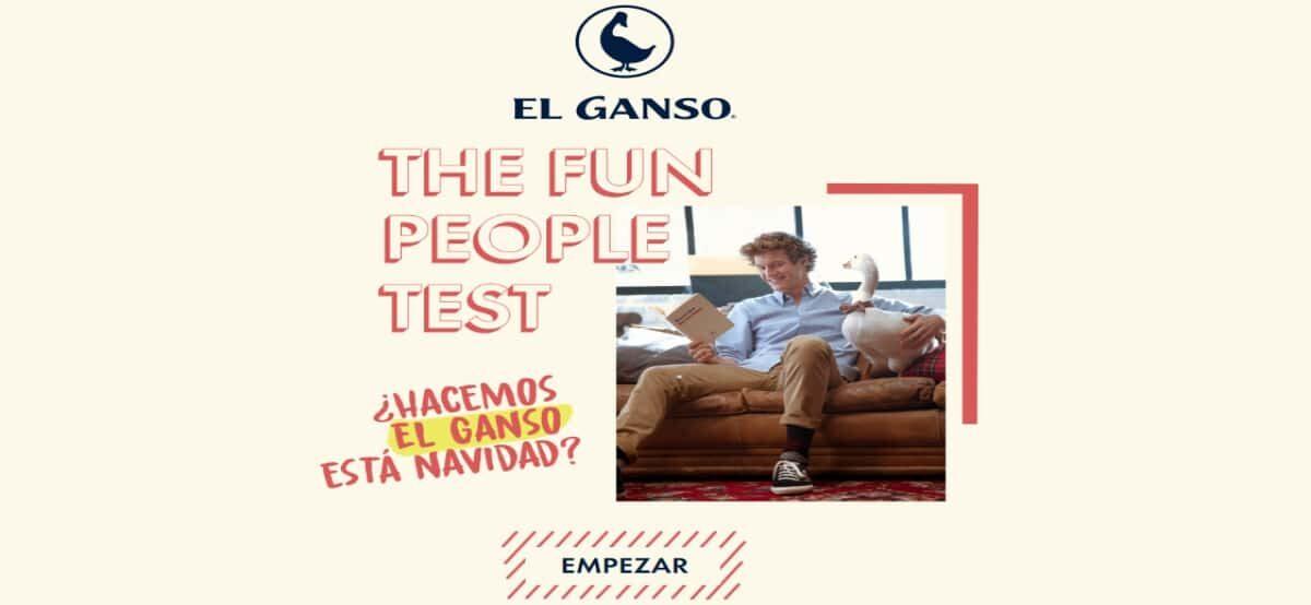 Responde El Test De El Ganso Y Gana Fabulosos Premios