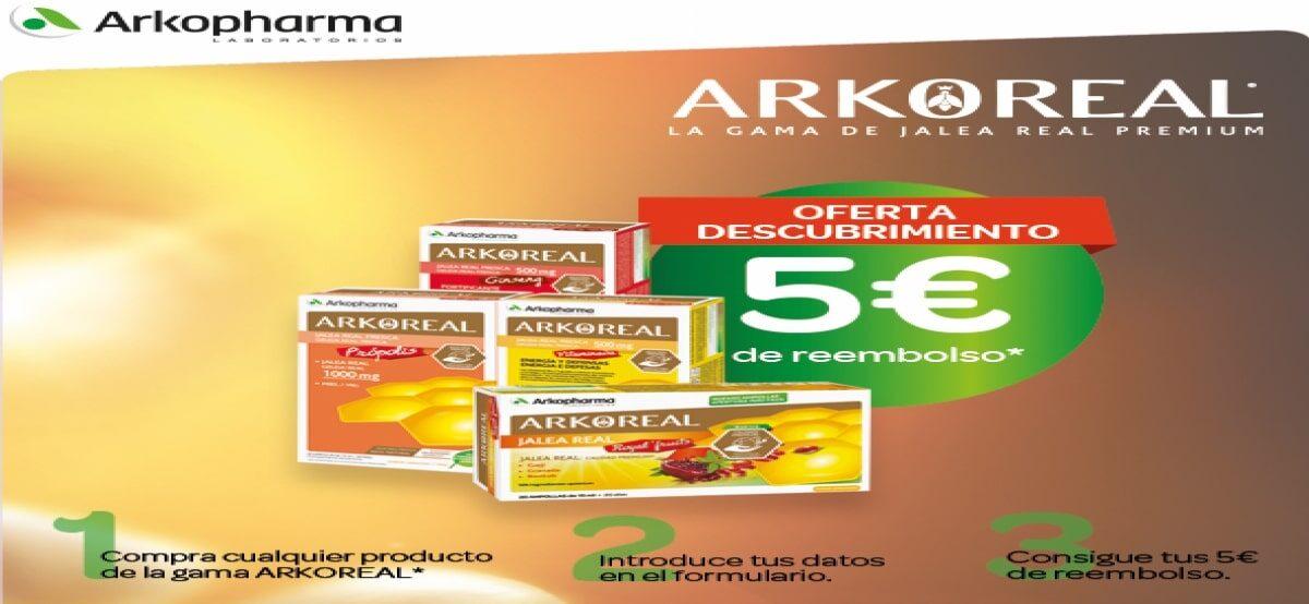Compra Productos Arkopharma Y Recibe 5€ De Reembolso