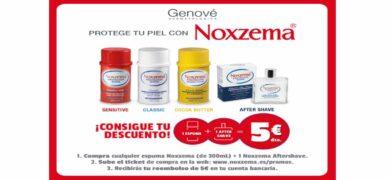 Consigue Con Noxzema 5 Euros De Reembolso