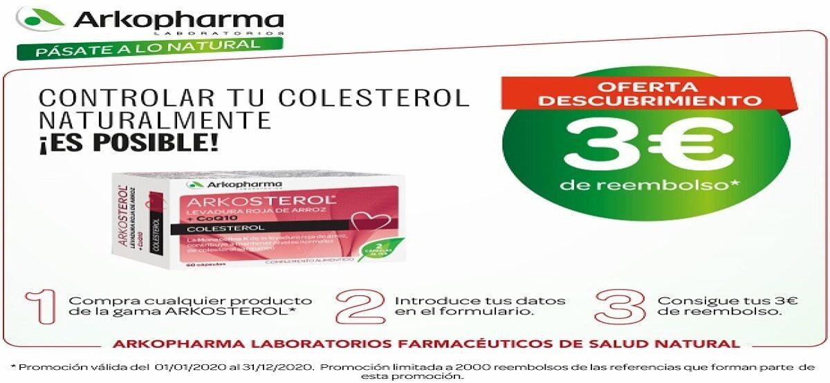 Controla Tu Colesterol Y Recibe Un Reembolso De 3€
