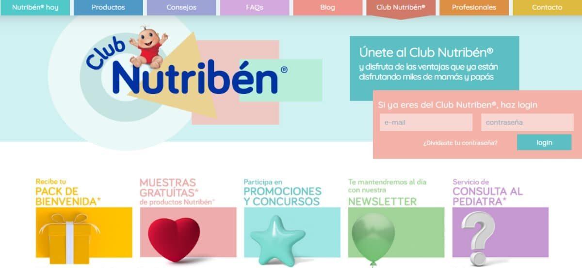 Forma Parte Del Club De Nutribén Y Recibe A Domicilio Un Pack De Bienvenida