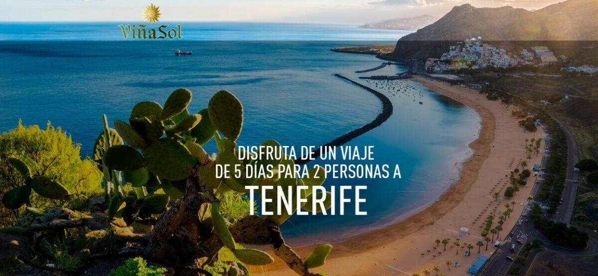 Gana 1 De Los 4 Viajes A Tenerife Que Regala Viña Sol