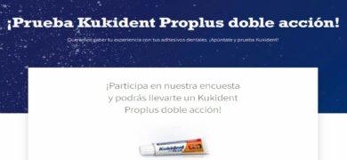 Próxima A Ti Te Invita A Responder Un Test Para Que Ganes 1 Pack De Kukident Con Doble Acción