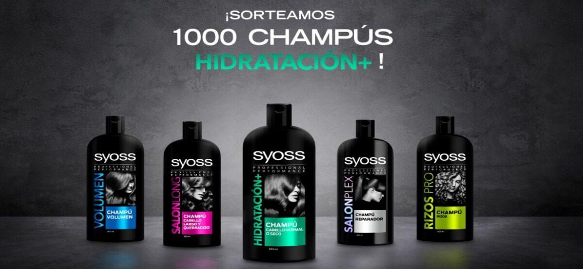 Prueba Gratis El Syoss Hair Care + HidrataciÓn