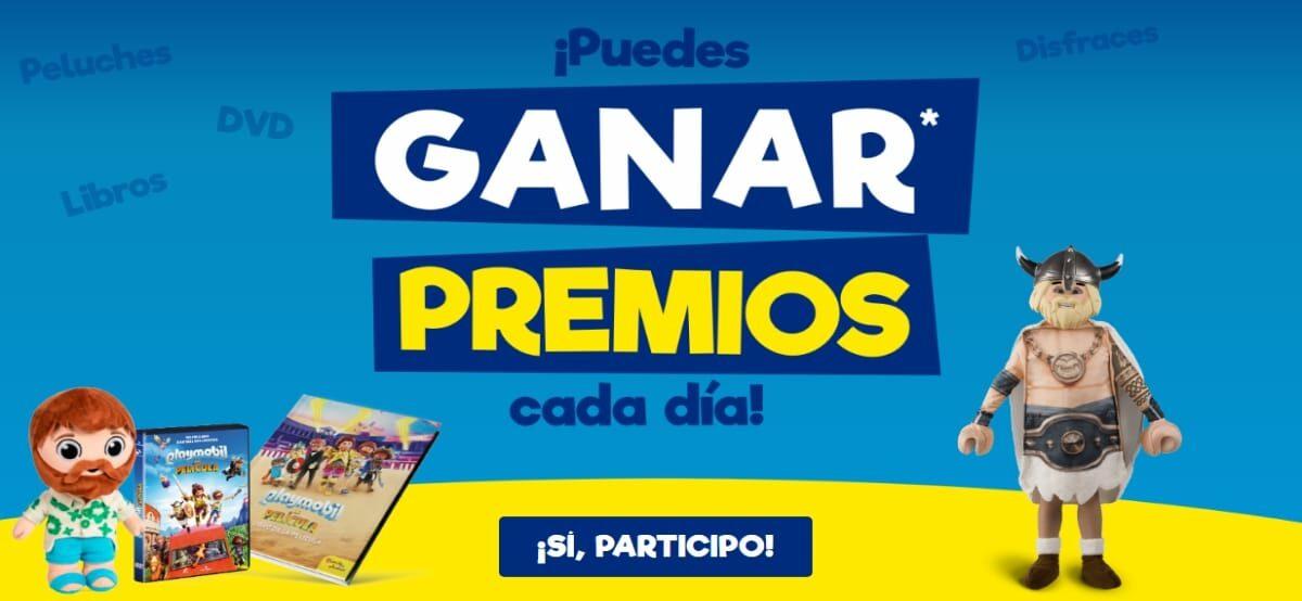 Sorteo De Weikis Para Ganar Premios De Playmobil La Película