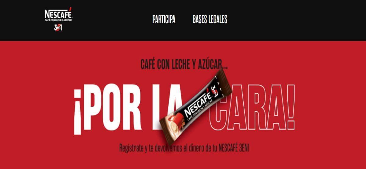 Prueba Gratis El Nescafé 3 En 1 Y Opten Reembolso