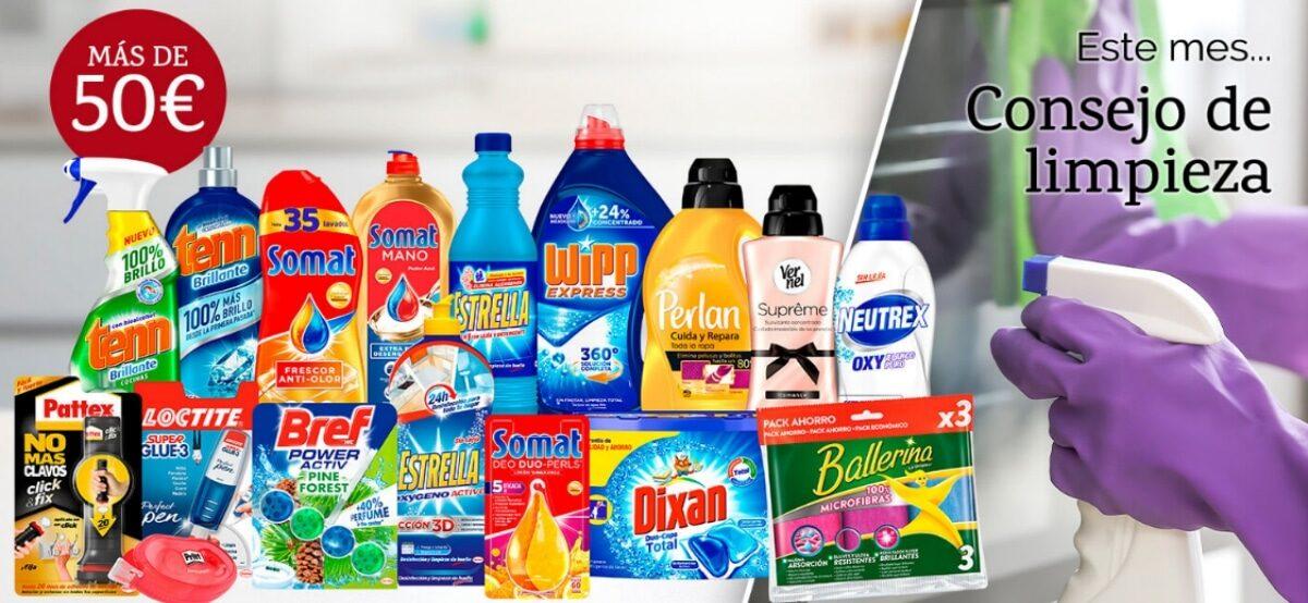 Henkel Ibérica Regala 6 Lotes De Productos Valorados Cada Uno En 50€