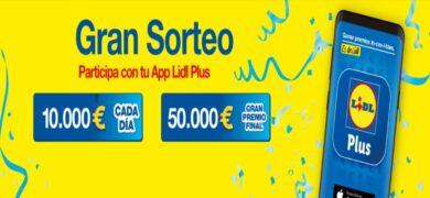 Lidl Regala Cheques De 10.000€ Y 50.000€