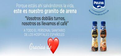 Puleva Regala Café Con Leche A Todo El Personal Sanitario De Emergencia