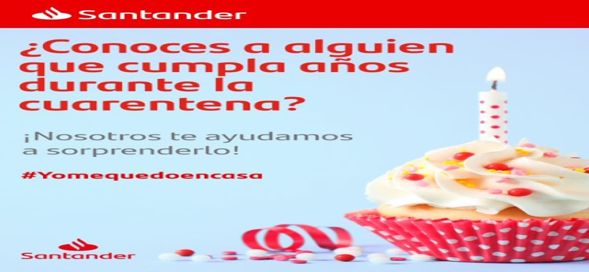 Santander Celebra El Cumpleaños De Tu Ser Querido